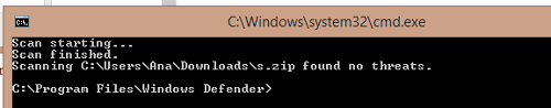 windows 8 windows defender archivo sin virus