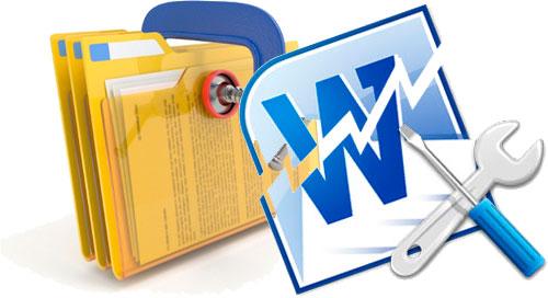 microsoft word recuperar documento grande