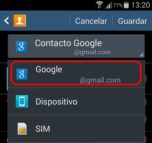 android-guardar-contactos-cuenta-google-seleccionar
