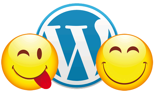 wordpress emoticons