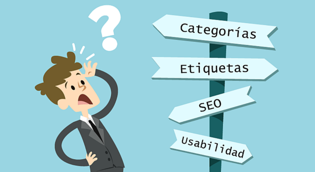 categorias etiquetas wordpress