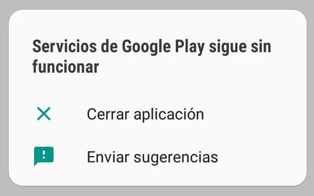 android error google services